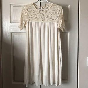 H&M Lace T-shirt Dress